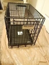 Precision Pet Two-Door Great Crate Extra Small 19x12x15 inches Cages Crates Dog