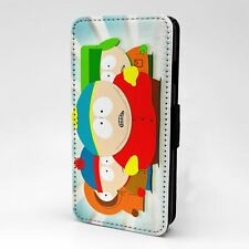 For Apple iPod Touch Flip Case Cover South Park Cartoon - T186