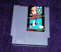 SUPER MARIO BROS./Duck Hunt game NES Nintendo cartridge  Works free ship