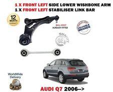 pour Audi Q7 2006- > SUSPENSION AVANT GAUCHE 1x FOURCHETTE BRAS 1x