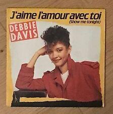 Vinyle 45T - Debbie Davis ❤️ J'aime L'amour Avec Toi (Show me) - 2494507 EP Rpm