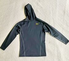 Mens Under Armour UA Coldgear Base 3.0 Fitted Long Sleeve Hoodie Large