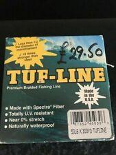 TUF-LINE PREMIUM BRAID LINE 300 YARD SPOOL (VARIOUS)