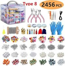 DIY Earrings Necklace Jewelry Making Tools Storage Box Beads Material Decoration