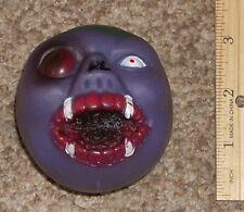 Vintage 1980's Crazy Ball KO Freak Taiwan Monster Purple Head Mad