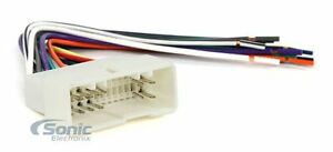 Scosche HY07B Aftermarket Stereo Wire Harness for 2005-Up Hyundai/Kia Vehicles