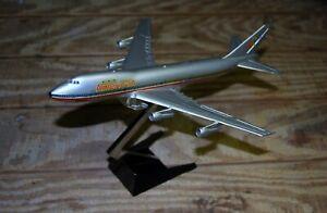 AERO MINI AMERICAN AIRLINES 747 METAL DESKTOP MODEL