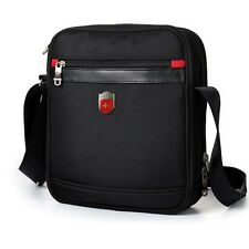 Swiss Men Women Shoulder Messenger Bag Briefcase 9.7 Tablet Satchel Purse 9726#