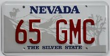 65 GMC Novelty License Plate for your 1965 truck