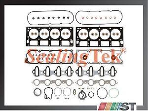 Fit 04-09 GM 6.0L V8 Vortec 6000 Engine MLS Cylinder Head Gasket Set LQ4 LQ9 LS2