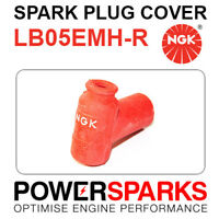 LB05EMH-R NGK Spark Plug Cover [8160] Red 90° Rubber Sheathed EPDM Rubber
