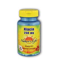 Niacin 100 tabs 250 mg by Nature's Life