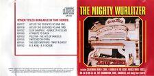 CD Harry Stokes, The Might Wurlitzer