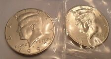 1992 P & D Kennedy Half Dollar Set (2 Coins) *MINT CELLO*  **FREE SHIPPING**