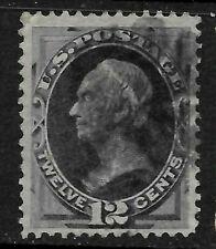 "Sc #151 ""Hearts"" Fancy Cancel 12 Cent 1870-75 Banknote US 63B76"