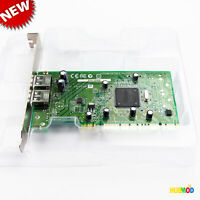 Adaptec USB2Connect AUA-2000B 2-Port USB PCI Card Expansion Controller Card NEW
