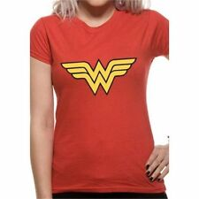 Magliette da donna rosse con girocollo taglia S