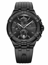 Maurice Lacroix Aikon Chronograph Quartz Watch Black PVD 44 Mm Special Edition