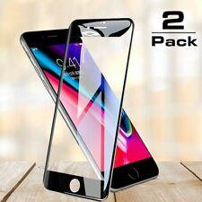 2 × 11D FULL GLUE Glas für iPhone 7 iPhone 8 Panzerfolie Schutzfolie Hartglas 9H