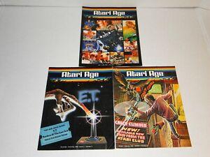 Atari Age Club Video Game Magazines lot video game history memorabilia Vol.1 #1