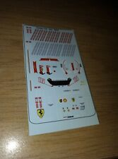 Waterslide Decals for driver 1:18 Charles Leclerc 2021 race