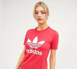 ADIDAS ORIGINALS - Womens Trefoil T-Shirt (Pink) Womens