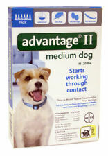 Bayer Advantage II for Medium Dogs (11 - 20 Lbs) - 6 Month Supply