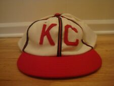 VTG Kansas City Monarchs Cooperstown Cap Co 7 3/4 hat cap retro 1942 Royals KC