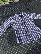 Jacadi chemise 6 ans garçon carreaux bleu blanc