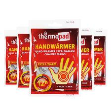 Thermopad Handwärmer Taschenwärmer Taschenofen bis zu 12h Wärme 5er-Pack
