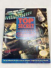 Vintage Top Secret Passwords Nintendo Player's Guide
