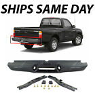 NEW Complete Rear Steel Step Bumper Assembly For 1995-2004 Toyota Tacoma Truck