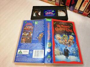 THE MUPPET CHRISTMAS CAROL - Rare Walt Disney / Jim Henson Masterpiece - on VHS!