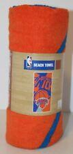 "N.Y. KNICKS OFFICIAL BEACH TOWEL 34""x72"" New"