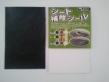 Seat Repair Sticker for Motorcycles & Scooters, black