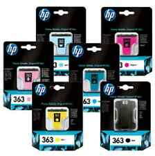 HP 363 SET OF 6 INKS + PHOTO PAPER Q7966EE C8771E HP363