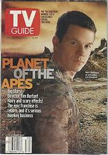 TV GUIDE July 28 - Aug. 3, 2001: New Planet of the Apes (No. 2)-LOT E