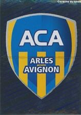 N°483 LOGO BADGE SCUDETTO # AC.ARLES AVIGNON STICKER FOOT 2014 PANINI