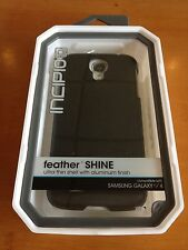 Incipio Feather Shine (Black) For Samsung Galaxy S4