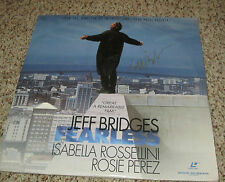Jeff Bridges Signed Fearless Laser Disc with proof