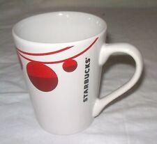 Starbucks Red String of Ornaments Christmas Holiday Coffee Mug Cup 13 oz