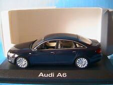 AUDI A6 3.2 QUATTRO 2004 C6 NIGHT BLUE MINICHAMPS 5010406133 1/43 LIMOUSINE