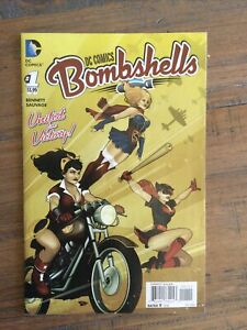 DC Comics Bombshells (2015) # 1  Ant Lucia Cover Art.