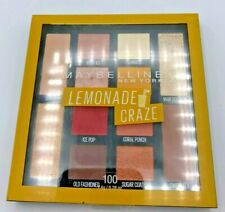1 Maybelline Lemonade Craze Eyeshadow Palette 100