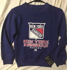 New York Rangers Youth Small Crewneck NHL Sweatshirt NWT