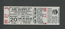 Original 1982 Air Supply Unused Full Concert Ticket Honolulu Now and Forever