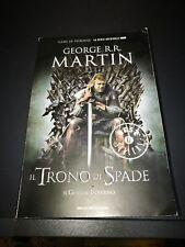 LIBRO IL TRONO DI SPADE IL GRANDE INVERNO DI GEORGE R.R. MARTIN