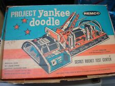 REMCO #204 PROJECT YANKEE DOODLE 1959 ROCKET TEST CENTER~W/ORGINIAL BOX