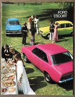 1973 Ford Escort original Australian sales brochure