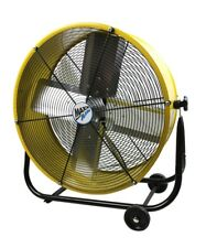 Floor Fan High Velocity Round Garage Workshop Construction Site Portable Shop